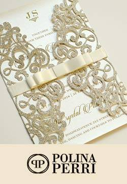 Polina Perri Luxury Wedding Invitations